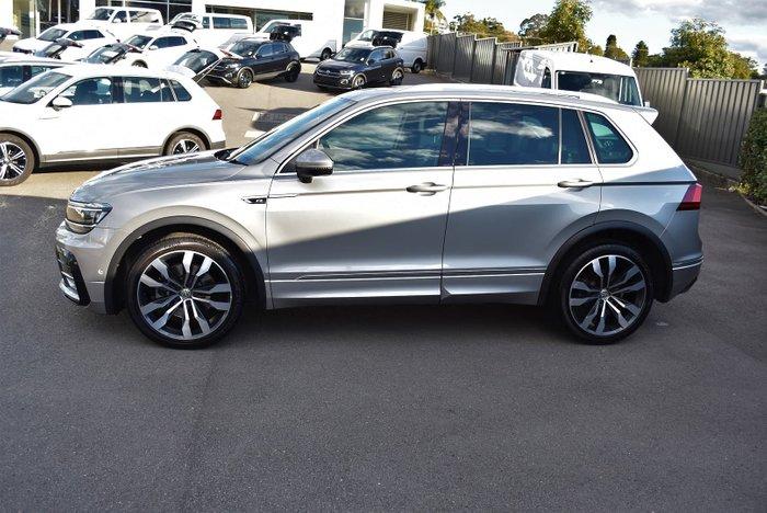 2017 Volkswagen Tiguan 162TSI Highline 5N MY17 Four Wheel Drive Tungsten Silver