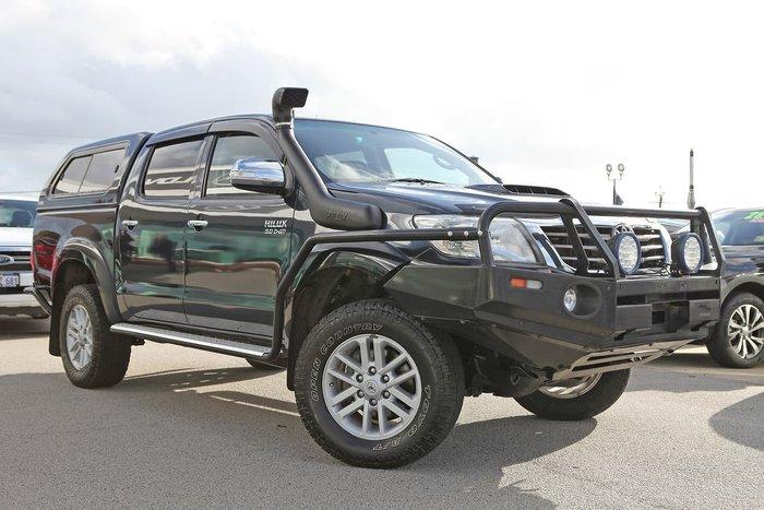 2014 Toyota Hilux SR5 KUN26R MY14 4X4 Dual Range Green