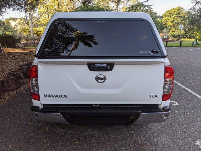 2017 Nissan Navara RX D23 Series 2 White