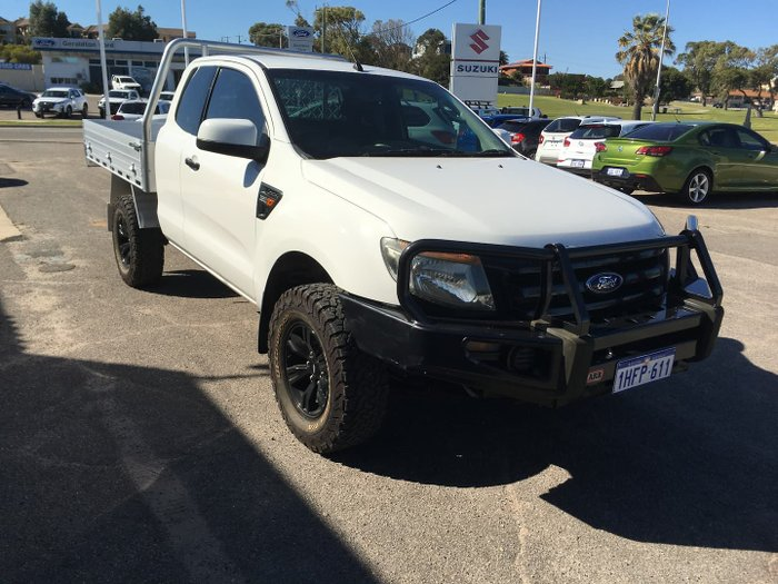 2012 Ford Ranger XLT PX 4X4 Dual Range Cool White