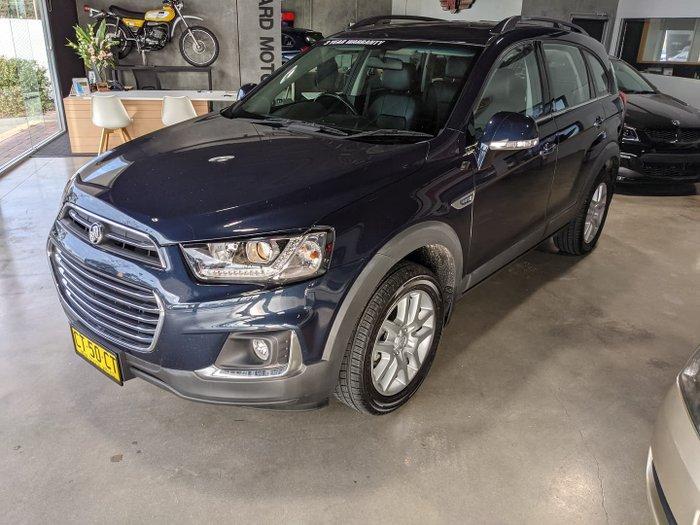 2017 Holden Captiva Active CG MY18 Blue