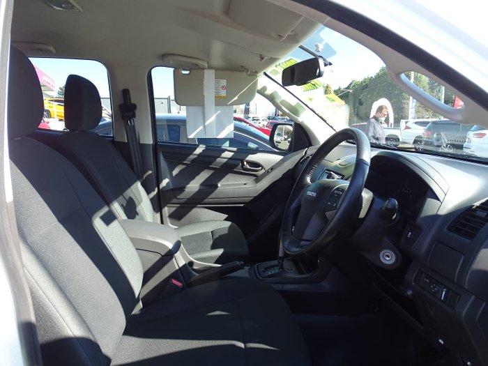 2014 Isuzu D-MAX SX High Ride MY14 Splash White