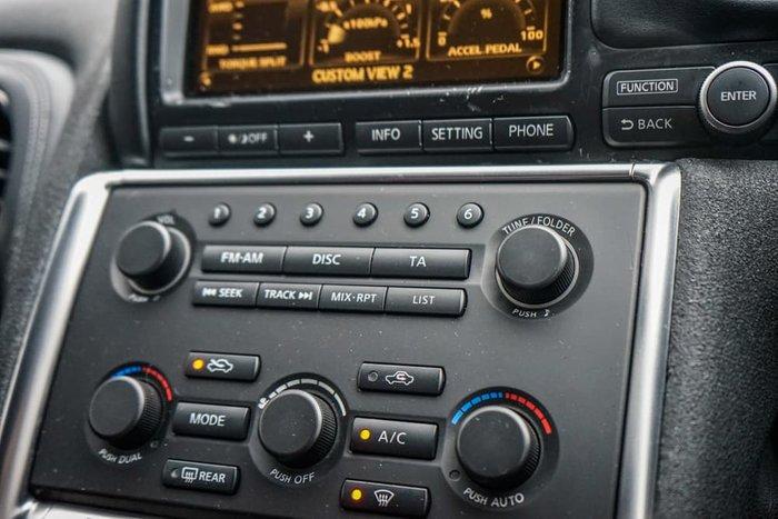 2009 Nissan GT-R Premium R35 AWD Vibrant Red