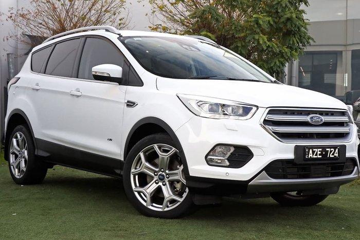 2018 Ford Escape Titanium ZG MY18 AWD White