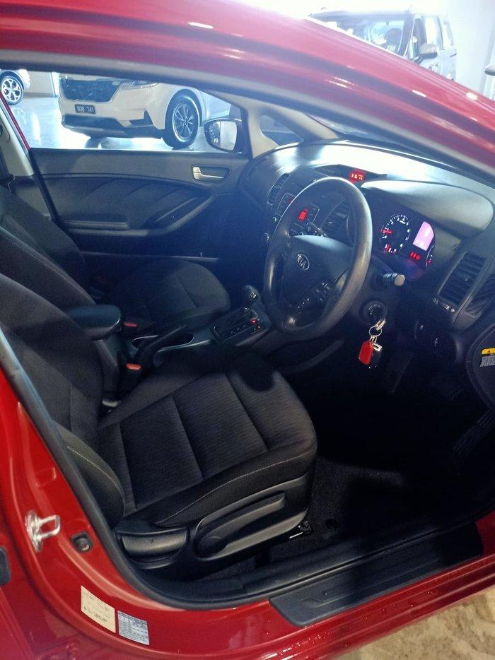 2016 Kia Cerato S YD MY16 Red