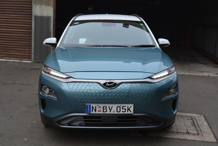 2020 Hyundai Kona electric Highlander OSEV.2 MY20 Ceramic Blue