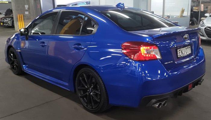 2017 Subaru WRX Premium V1 MY18 AWD Blue