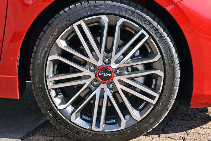 2021 Kia Cerato GT BD Runway Red