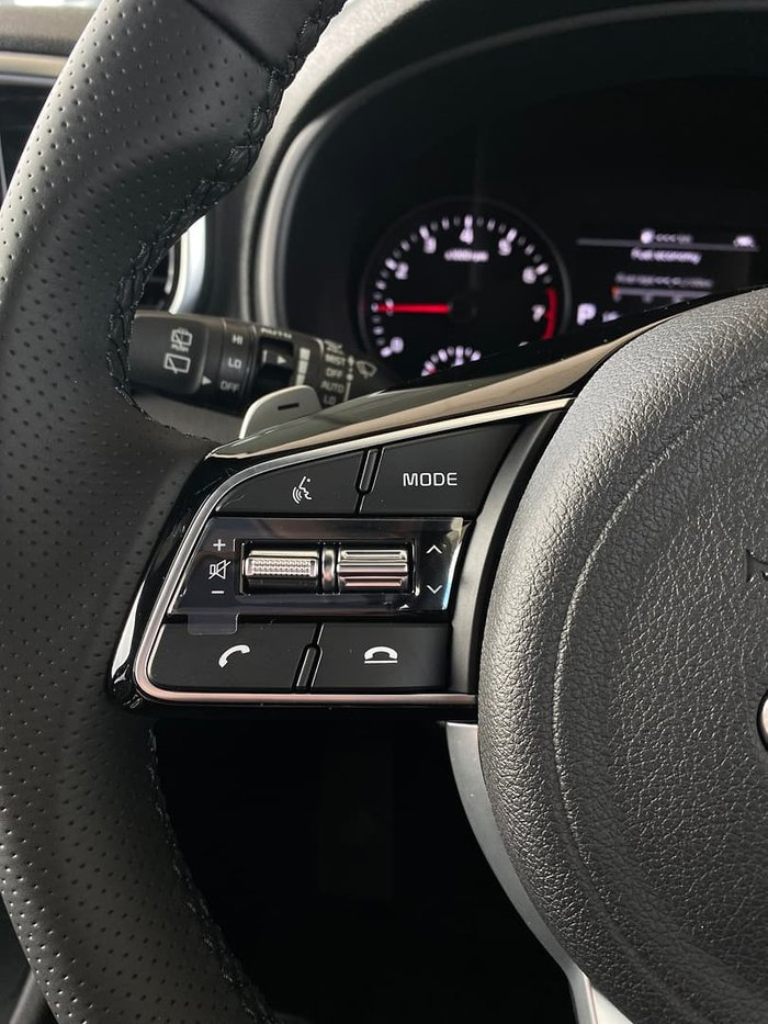 2020 Kia Sportage GT-Line QL MY21 AWD Snow White Pearl