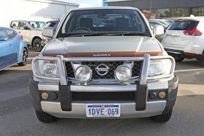 2011 Nissan Navara ST D40 MY11 4X4 Gold