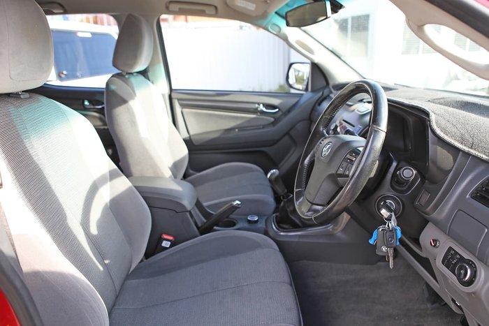2013 Holden Colorado LTZ RG MY13 4X4 Dual Range Red