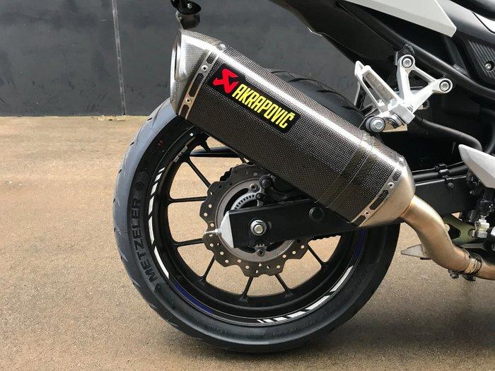 2016 Honda CBR500R WHITE