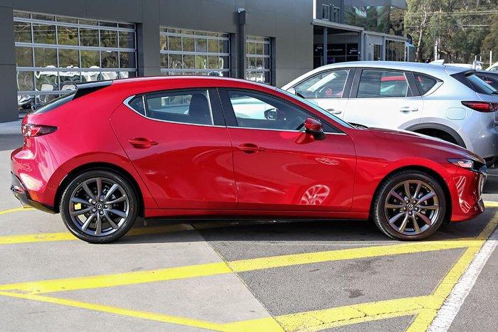 2021 Mazda 3 G25 Evolve BP Series Soul Red Crystal