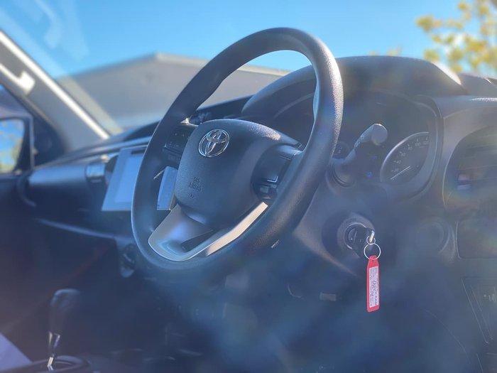 2018 Toyota Hilux Rugged GUN126R 4X4 Dual Range Grey