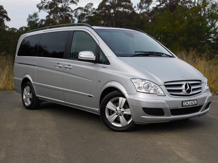 2012 Mercedes-Benz Viano BlueEFFICIENCY 639 MY12 Silver