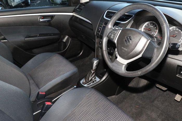 2011 Suzuki Swift GLX FZ Blue