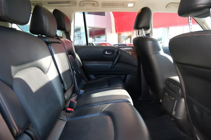 2017 Nissan Patrol Ti Y62 Series 4 4X4 Dual Range Silver