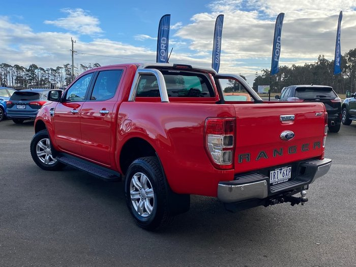 2020 Ford Ranger XLT PX MkIII MY20.25 4X4 Dual Range Red