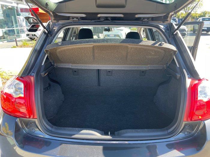 2011 Toyota Corolla Ascent ZRE152R MY11 Graphite
