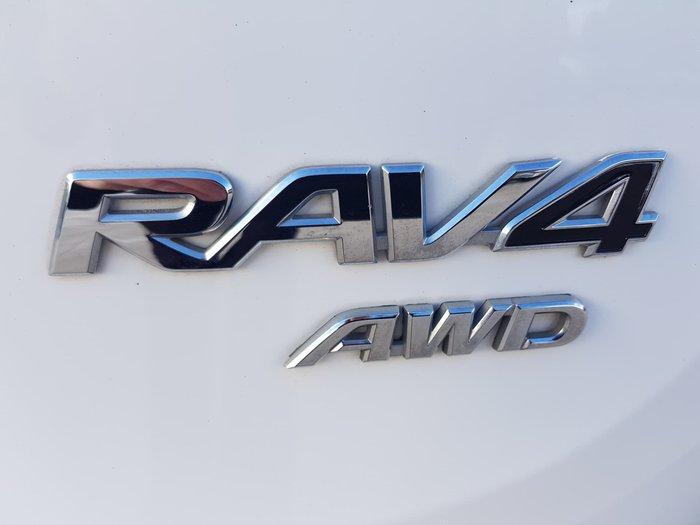 2015 Toyota RAV4 GX ASA44R MY14 AWD Glacier White