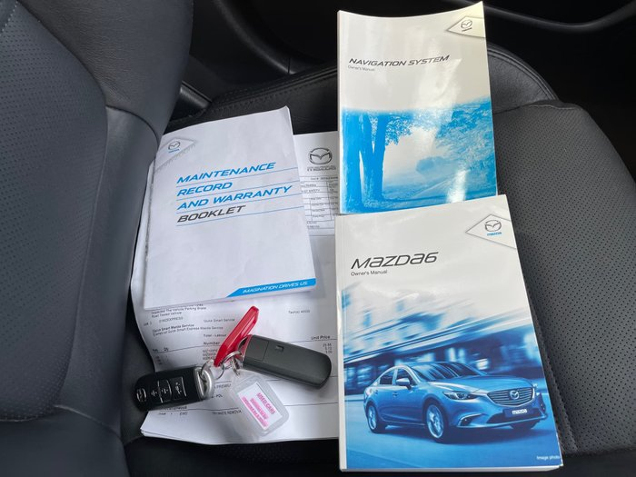 2014 Mazda 6 GT GJ MY14 Soul Red