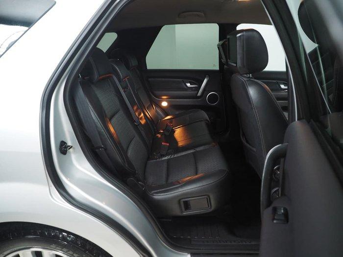 2016 Ford Territory TS SZ MkII Silver