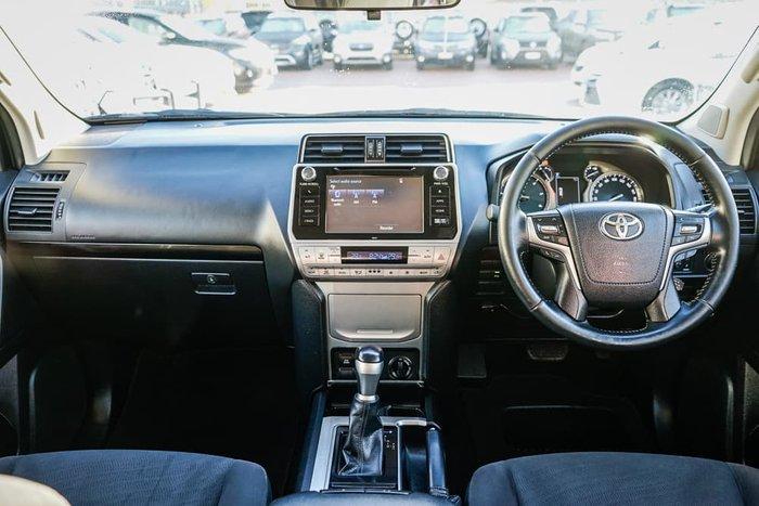 2018 Toyota Landcruiser Prado GXL GDJ150R 4X4 Dual Range Glacier White
