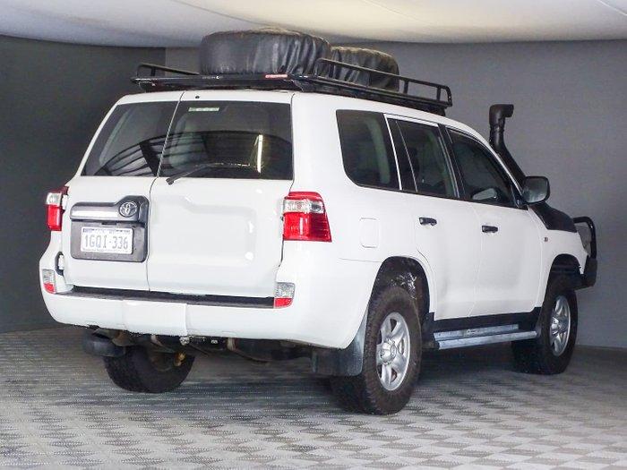 2016 Toyota Landcruiser GX VDJ200R 4X4 Dual Range Glacier White