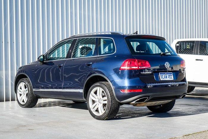 2012 Volkswagen Touareg V6 TDI 7P MY12.5 Four Wheel Drive Night Blue Metallic