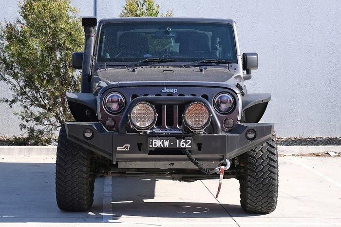 2014 Jeep Wrangler Overland JK MY14 4X4 Dual Range Grey