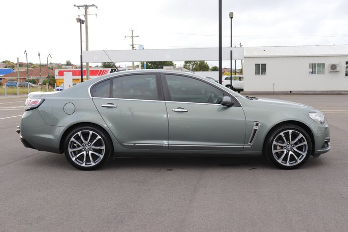 2016 Holden Calais V VF Series II MY16 Prussian Steel