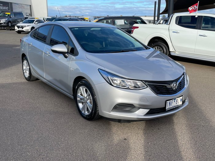 2018 Holden Astra LS BL MY18 Nitrate Silver