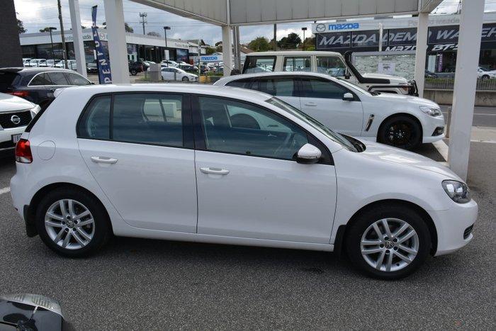 2012 Volkswagen Golf 103TDI Comfortline VI MY12.5 Candy White