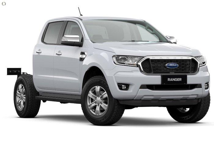 2021 Ford Ranger XLT PX MkIII MY21.75 4X4 Dual Range Arctic White