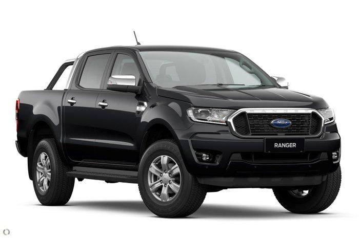 2021 Ford Ranger XLT Hi-Rider PX MkIII MY21.75 Shadow Black