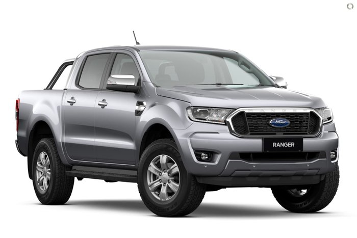 2021 Ford Ranger XLT PX MkIII MY21.75 4X4 Dual Range Aluminium