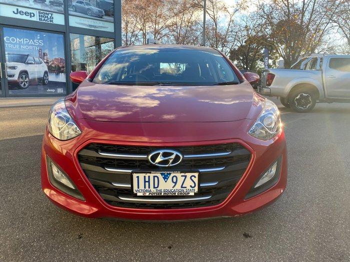 2015 Hyundai i30 Active GD4 Series II MY16 Fiery Red