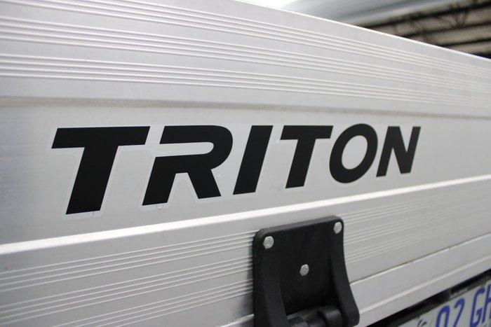 2019 Mitsubishi Triton GLX MR MY19 White