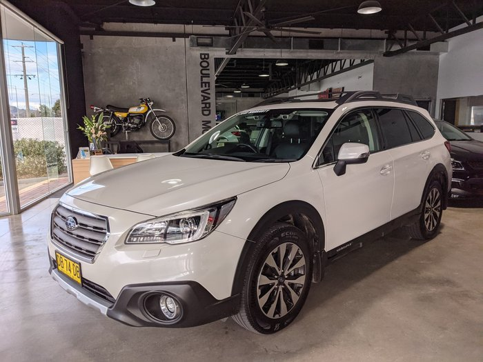 2016 Subaru Outback 2.5i Premium 5GEN MY16 AWD Crystal White