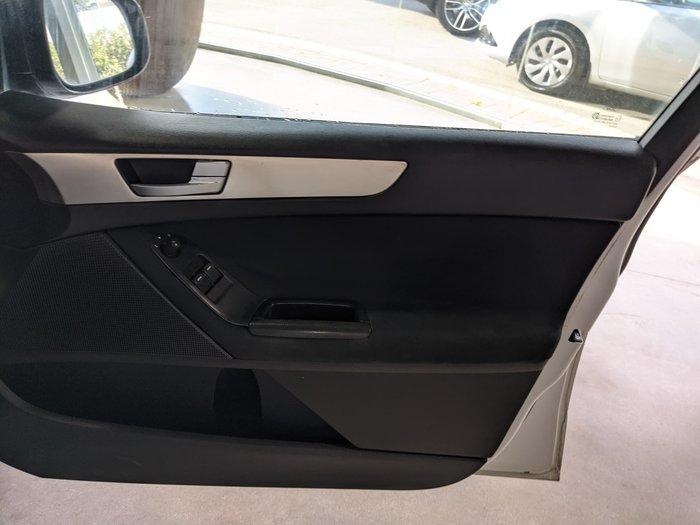 2009 Ford Falcon Ute FG Frozen White