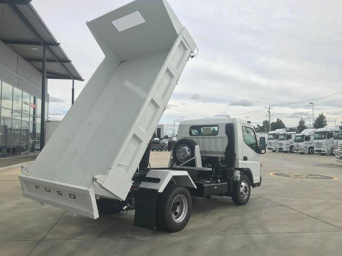 2021 FUSO CANTER 815 WIDE CAB 4X2 TIPPER SWB 6SP A/T WHITE