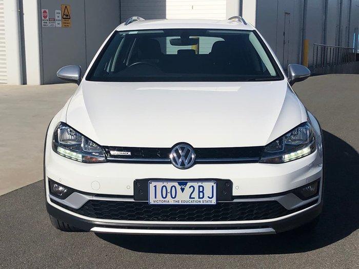 2018 Volkswagen Golf Alltrack 132TSI 7.5 MY18 Four Wheel Drive White