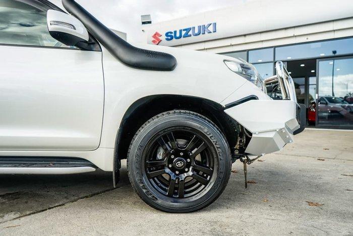 2013 Toyota Landcruiser Prado VX KDJ150R 4X4 Constant Crystal Pearl