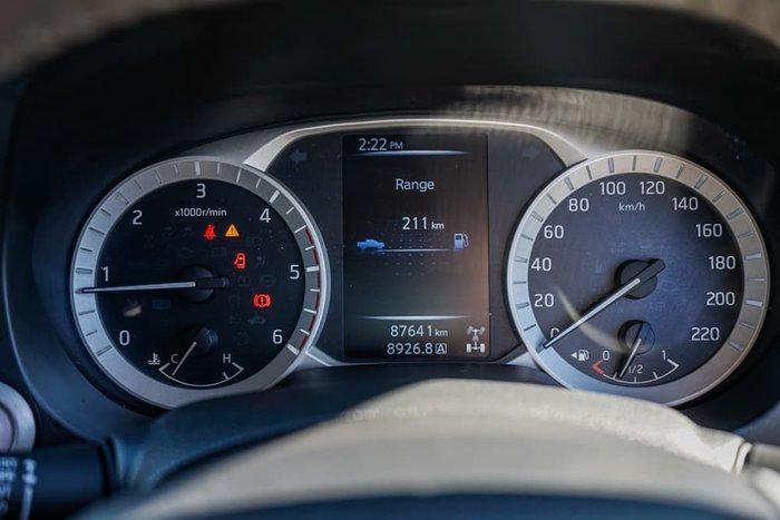 2016 Nissan Navara ST-X D23 4X4 Dual Range Cosmic Black
