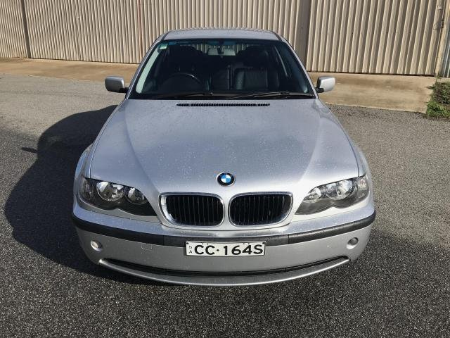 2004 BMW 3 2001 BMW 3 18i MAN 4D SEDAN 4CYL Silver