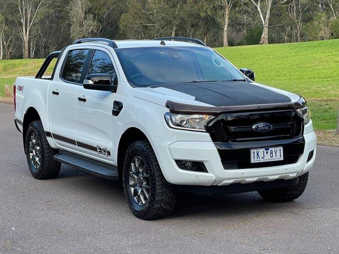2017 Ford Ranger FX4 PX MkII 4X4 Dual Range Frozen White