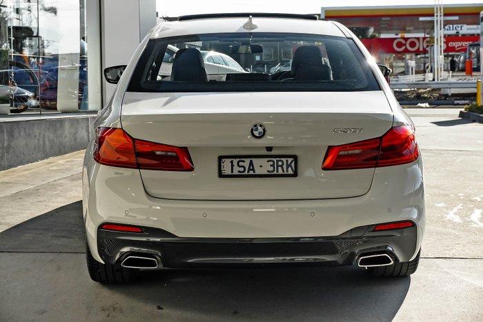 2020 BMW 5 Series 530i M Sport G30 White