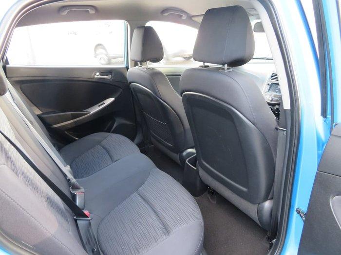 2018 Hyundai Accent Sport RB6 MY18 Blue