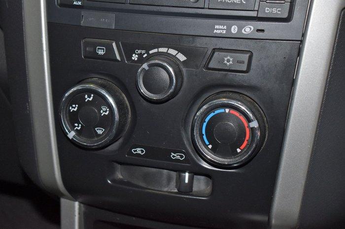 2012 Isuzu D-MAX LS-U MY11 4X4 Dual Range Nebula Grey