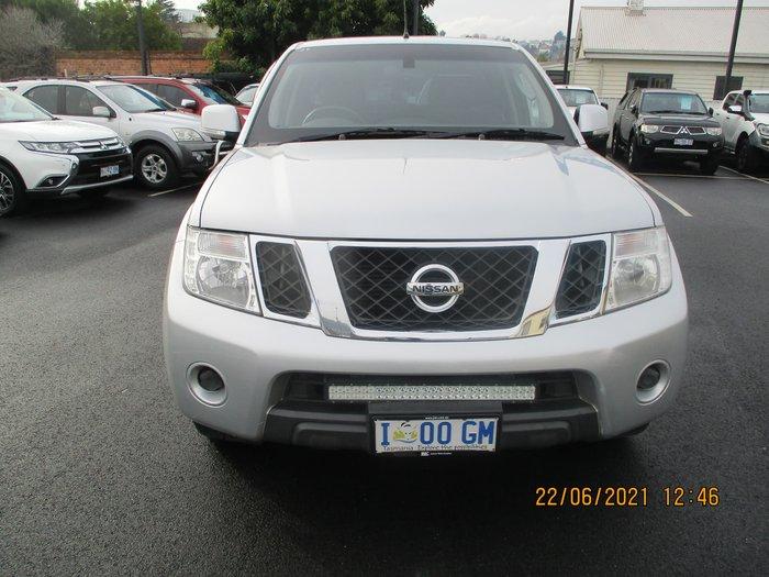 2012 Nissan Navara ST D40 Series 6 Brilliant Silver